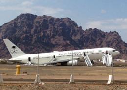 Suudi Havayolları Kaza